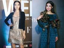 Bình thường lên đồ cũng xinh, mỗi tội cứ đến Fashion Week là Hoa Hậu Mỹ Linh lại mặc linh tinh vì ham...
