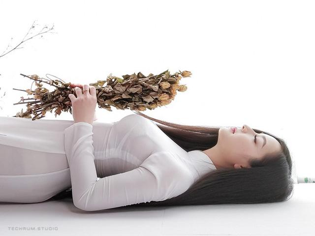 Nhan sắc nóng bỏng của cô gái chụp ảnh áo dài đẹp như Mai Phương Thúy-2