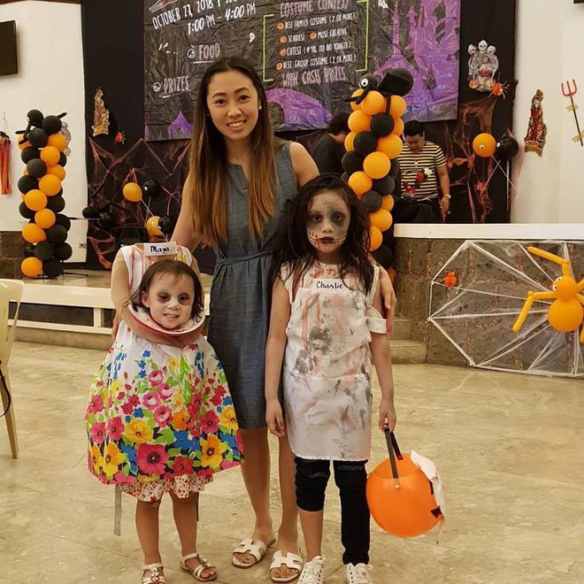 Cân hết mọi loại ma quỷ, cô bé Philippines nổi tiếng toàn cầu với màn ôm đầu đi xin kẹo Halloween-3