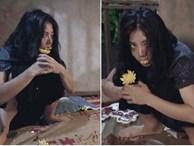 Hé lộ hình ảnh hóa điên của Lan 'cave', fans xót xa nhìn Thanh Hương bị nhốt kín, gặm hoa cúc sống qua ngày
