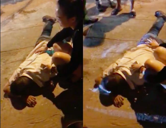 Tài xế taxi bị bắn trọng thương, lái xe chèn qua người ở Hà Nội-2