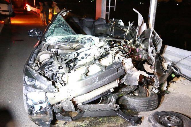 Tai nạn thảm khốc ở cao tốc Quảng Ninh - Hải Phòng, nhiều người chết-4