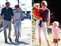 Với loạt chi tiết này, báo Anh tin rằng cả Hoàng gia đang xem Meghan Markle như Công nương Diana thứ 2