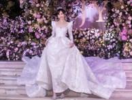 Cận cảnh váy cưới của Đường Yên: lộng lẫy như công chúa, tốn hơn 5.000 giờ thực hiện và ẩn chứa bí mật bất ngờ