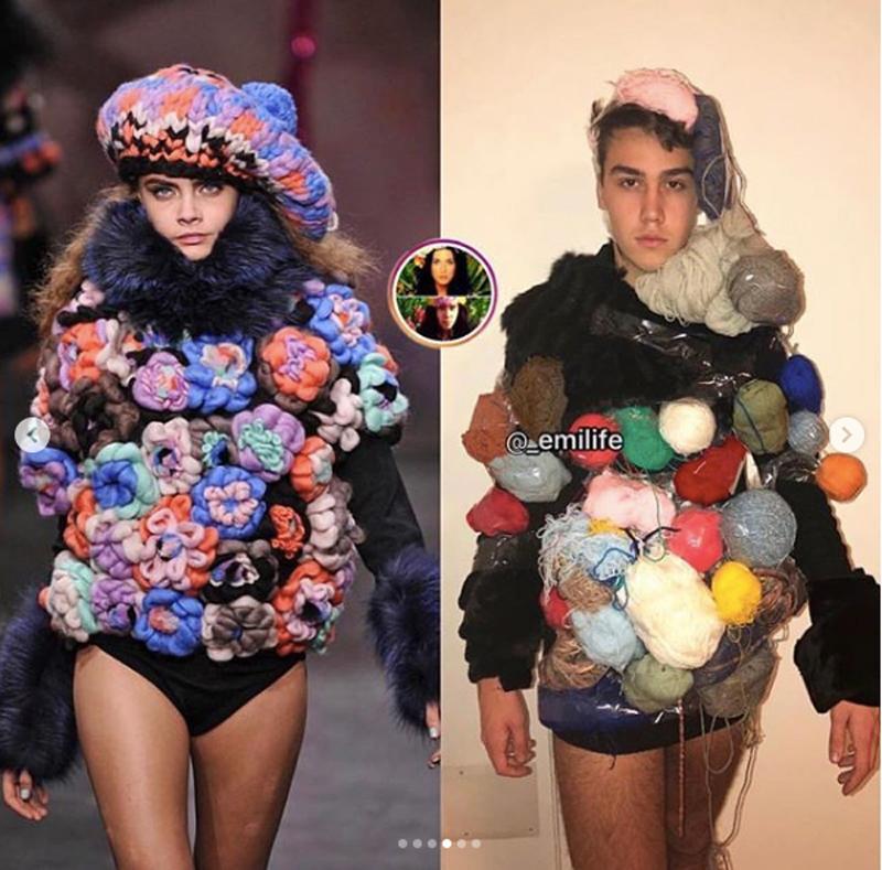 Thánh tái chế thời trang trở lại, cộng đồng mạng thán phục 100%-7