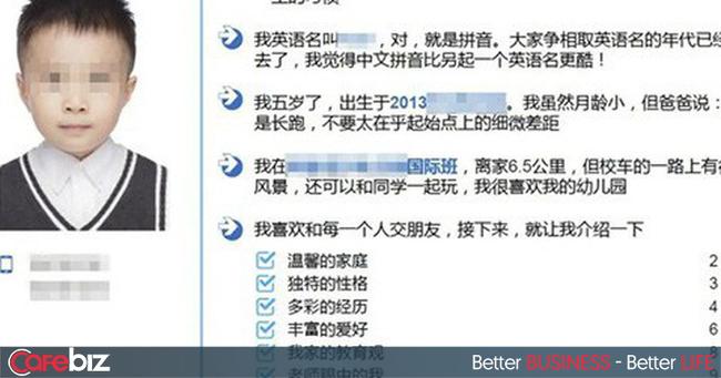 Hồ sơ chạy đua vào tiểu học của bé trai 5 tuổi ở Trung Quốc gây bão mạng: Dài 15 trang, khoe đã đọc hơn 10.000 đầu sách tiếng Anh và Trung-1