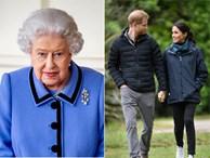 Người hâm mộ xôn xao trước tin Nữ hoàng Anh khó chịu khi Meghan 'dụ dỗ' chồng rời bỏ tước vị vì lý do này