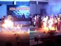 Nữ sinh Nghệ An bốc cháy khi tham gia lễ hội Halloween
