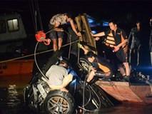 2 nạn nhân tử vong trong vụ ô tô Mercedes lao xuống sông Hồng đều là nữ, 1 người chưa xác định được danh tính