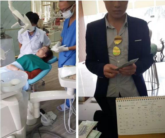 Sau khi căng da mặt, cô dâu 62 tuổi tiếp tục thể hiện sự chịu chơi khi chi hơn 200 triệu để làm răng-1