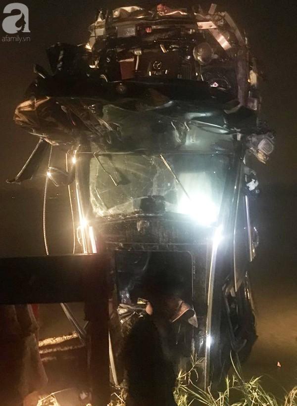 Vụ xe Mercedes đâm sập vào cầu rơi xuống sông Hồng: Đã xác định được danh tính nạn nhân thứ 2-2