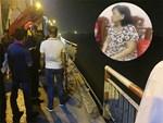 Vụ Mercedes đâm gãy thành cầu lao xuống sông Hồng: Tìm thấy CMND của 1 người đàn ông trên xe-3