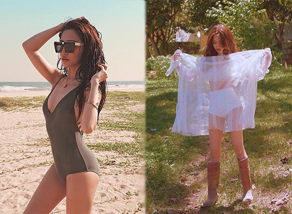 Nắm tay trai lạ, diện bikini, Minh Hằng khiến dân tình phát sốt vì vóc dáng không thể chuẩn hơn!-8