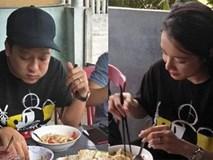 Trường Giang - Nhã Phương tích cực diện đồ đôi, cùng về quê Quảng Nam sau hơn 1 tháng làm đám cưới