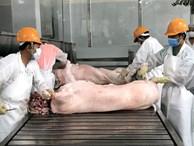 Trung Quốc khen thịt lợn Việt Nam ngon nhưng... không mua