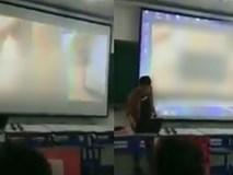 Thầy giáo trẻ gây shock khi chiếu nhầm phim người lớn trên giảng đường đại học