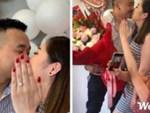 Clip: Bạn trai quỳ gối cầu hôn trên phố với nhẫn kim cương và iPhone XS Max vào đúng sinh nhật, cô gái bối rối che mặt và cái kết viên mãn-3