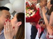 Chưa kịp làm móng đã được cầu hôn, cô gái mượn tạm bàn tay của chị đeo nhẫn chụp ảnh cho sang!