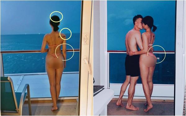 Không hổ danh nữ hoàng thị phi, Lưu Đê Li lại gây sóng gió vì ảnh khoe vòng 3 sexy bị nghi ngờ chỉnh sửa-5