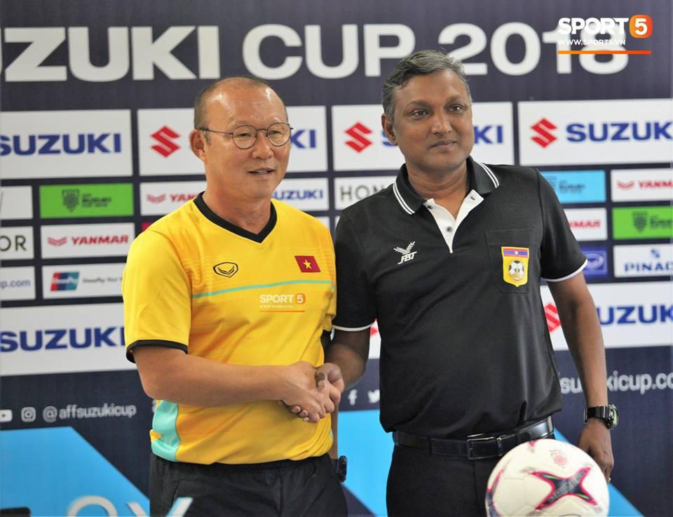 HLV Park Hang Seo: Tuyển Lào không dễ chơi, nhưng ĐT Việt Nam đã sẵn sàng để chiến thắng-1