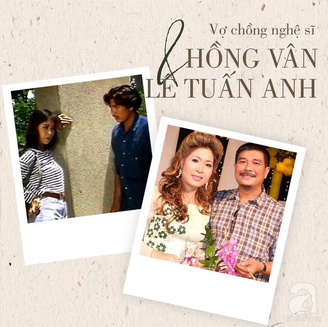 Chuyện tình Hồng Vân – Lê Tuấn Anh: Khi vợ đứng trên đỉnh vinh quang vẫn có bờ vai vững chắc của chồng-4