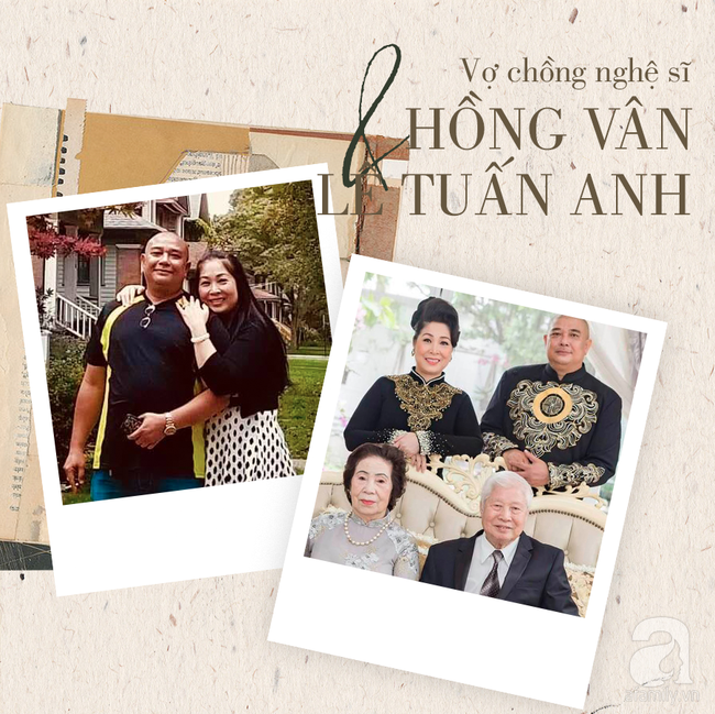 Chuyện tình Hồng Vân – Lê Tuấn Anh: Khi vợ đứng trên đỉnh vinh quang vẫn có bờ vai vững chắc của chồng-7