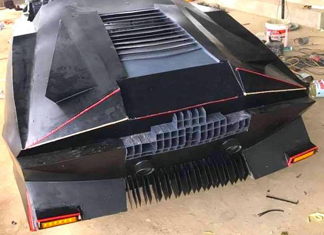 Cận cảnh siêu xe mui trần Lamborghini chờ ngày rước dâu được chế từ xe đồng nát của 9X Hà Tĩnh-11