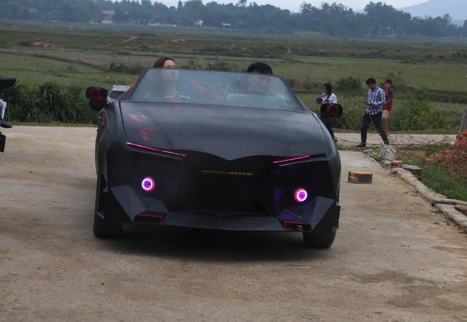 Cận cảnh siêu xe mui trần Lamborghini chờ ngày rước dâu được chế từ xe đồng nát của 9X Hà Tĩnh-13