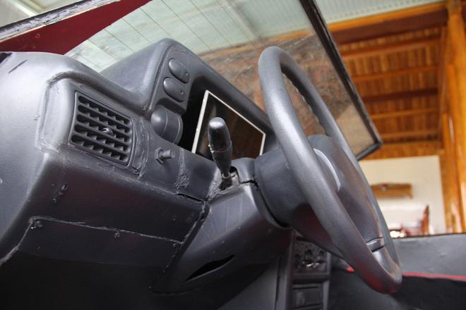 Cận cảnh siêu xe mui trần Lamborghini chờ ngày rước dâu được chế từ xe đồng nát của 9X Hà Tĩnh-15