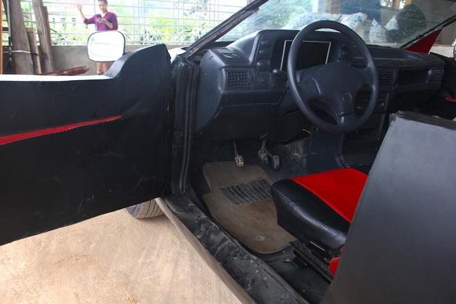 Cận cảnh siêu xe mui trần Lamborghini chờ ngày rước dâu được chế từ xe đồng nát của 9X Hà Tĩnh-16