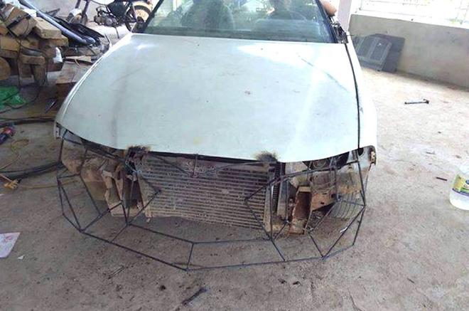 Cận cảnh siêu xe mui trần Lamborghini chờ ngày rước dâu được chế từ xe đồng nát của 9X Hà Tĩnh-3
