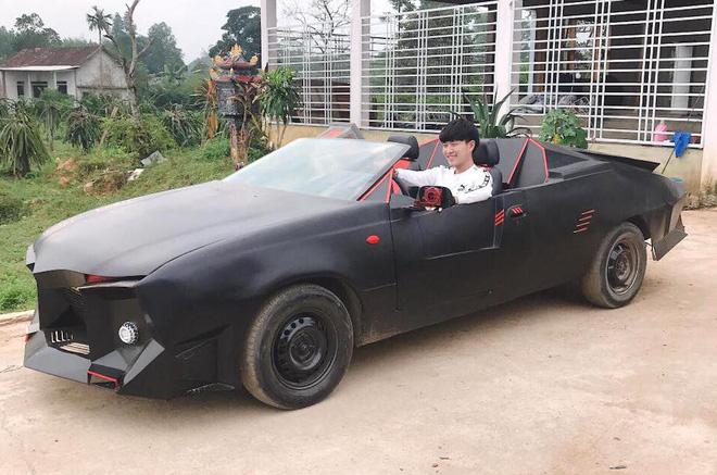 Cận cảnh siêu xe mui trần Lamborghini chờ ngày rước dâu được chế từ xe đồng nát của 9X Hà Tĩnh-8