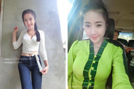 Những cô nàng hotgirl nổi tiếng nhất nước Lào - sang chảnh chả kém cạnh gì chị em trong khu vực-2