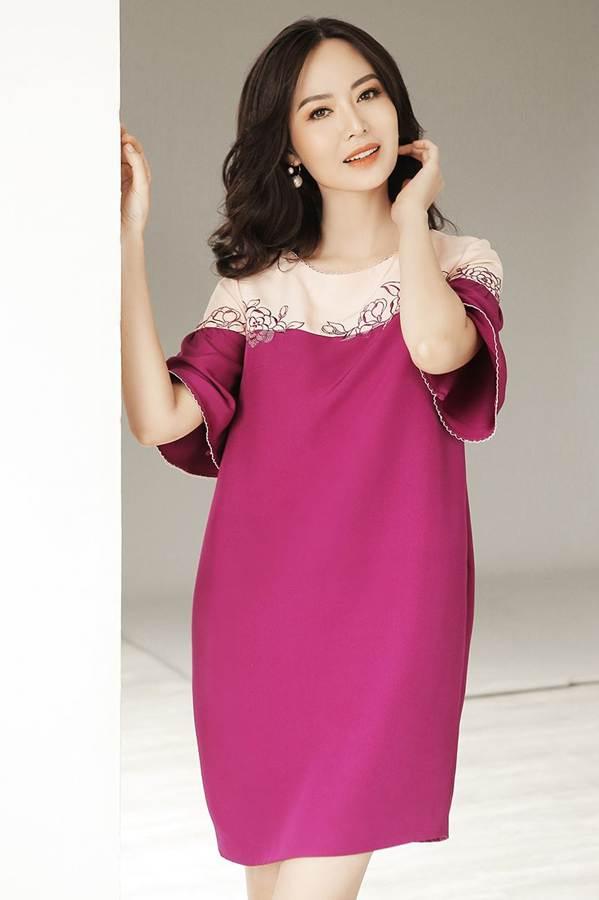 Hoa hậu Thu Thủy đẹp rực rỡ ở tuổi 43-3