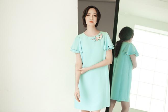 Hoa hậu Thu Thủy đẹp rực rỡ ở tuổi 43-16