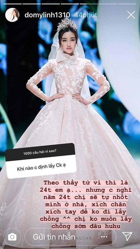 """Kết thúc nhiệm kỳ, Hoa hậu Đỗ Mỹ Linh chuyển từ nhạt"""" sang nhây"""" khi thường xuyên nói chuyện kiểu này với fan-1"""