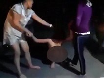 Xôn xao đoạn clip cô gái bị đánh ghen cắt tóc, lột quần áo kéo lê dọc đường ở Hải Phòng