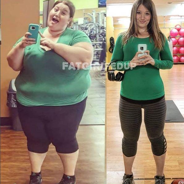 Cơ thể gây ám ảnh của cô gái giảm 141kg trong hơn 1 năm-3