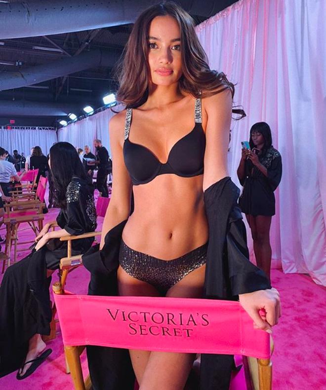 Hàng ngày mơ ước được như Gigi Hadid, 1 năm sau cô gái này đã trở thành chân dài Philippines đầu tiên trong show Victorias Secret-2