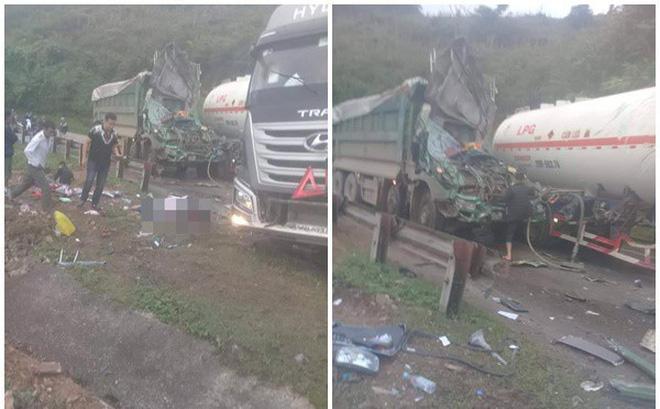Hiện trường vụ tai nạn nghiêm trọng ở Hòa Bình khiến người đi đường ám ảnh-1