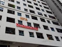 Tranh cãi gay gắt giữa cư dân và nhóm ki-ốt kinh doanh tại chung cư HH Linh Đàm