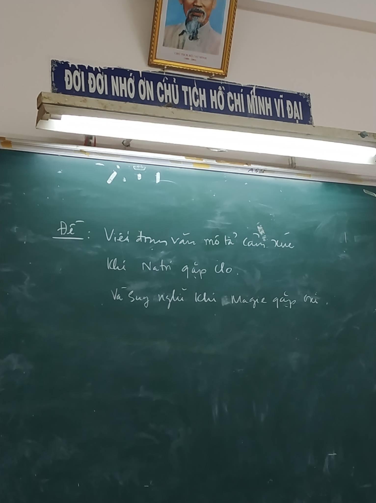 Seri những thầy cô mặn hơn muối biển: Thông báo nghỉ học thôi mà vẽ ra drama bi kịch như phim Hàn-6