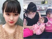 """Vừa chăm bé Yến Nhi, vừa mang bầu vượt mặt, tiểu thư 9x Lào Cai vẫn được phong """"thiên thần"""""""