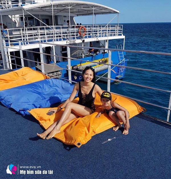 Hoa hậu Việt làm single mom, đổi đời lấy đại gia Úc, 1 năm sau cưới bán hàng ở chợ-6