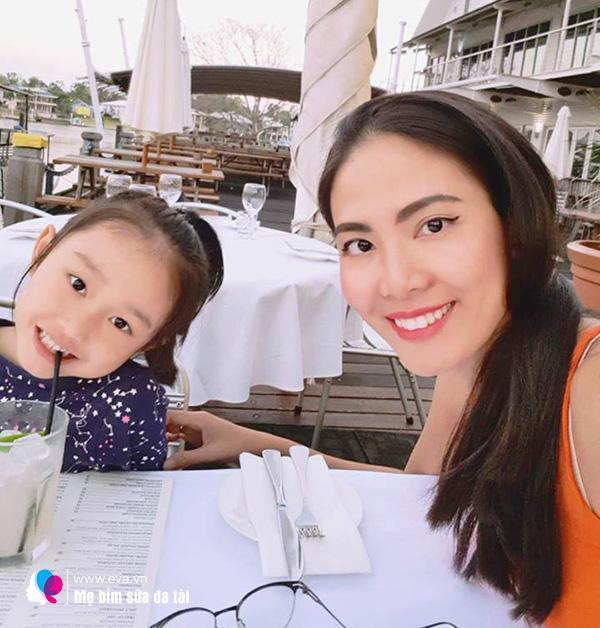 Hoa hậu Việt làm single mom, đổi đời lấy đại gia Úc, 1 năm sau cưới bán hàng ở chợ-2