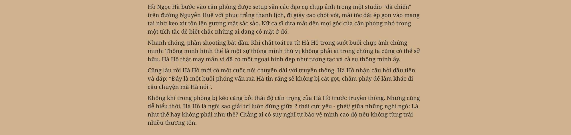 Hồ Ngọc Hà: Không bao giờ làm điều gì để những người phụ nữ khác phải đau lòng giống như lời đồn-2