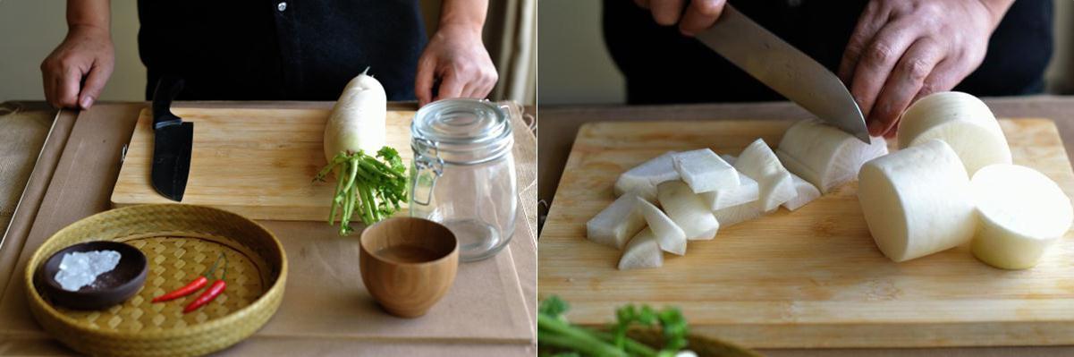 4 bước đơn giản làm củ cải muối chua ngọt ăn với gì cũng ngon-2