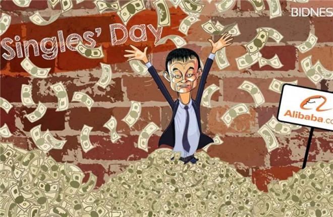 Người Trung Quốc chi tiền kỷ lục cho ngày mua sắm Single Day-1