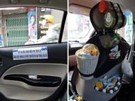 Vừa mở cửa bước lên xe, hành khách đã bị 'ngợp' khi nhìn thấy cảnh tượng bên trong