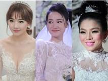Đọ phong cách trang điểm của mỹ nhân Việt trong ngày cưới: Nhã Phương, Lan Khuê xuất sắc, Lệ Quyên bị dìm không thương tiếc